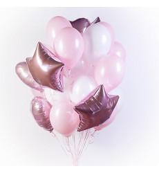 25 гелиевых шаров  «Моей любимой»