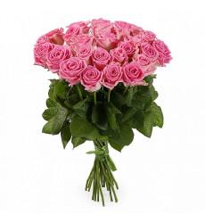 Букет из 15 розовых роз «Краски любви »