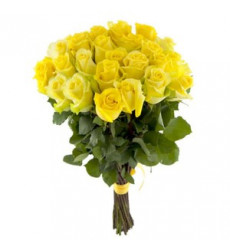 Букет из 15 желтых роз «Богатство »