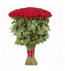 Букет из 99 красных роз  «Прекрасная муза»