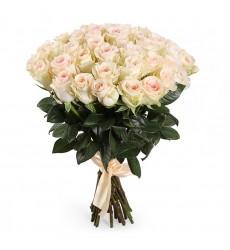 Букет из 31 кенийской розы  «Чистое сердце»