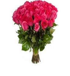Букет  из 51 розы 90 см. «Связь сердец»