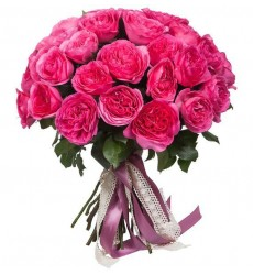 Букет из 15 роз Baronessa «Неизлечимый романтик»