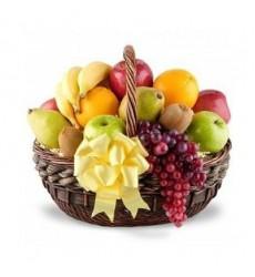 Фруктовая корзина с тропическими фруктами «Сладость на устах»