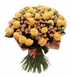 Букет из 51 розы «Воздушные мечты»