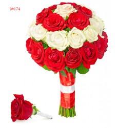 Букет невесты из 31 розы «Свадебный кортеж»