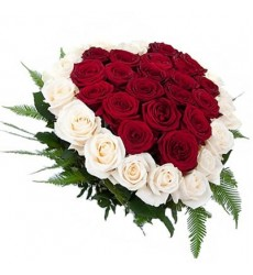 Цветочная композиция из 39 роз «Счастье для двоих»