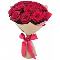 Букет из 15 красных роз Гран При «Первое свидание»