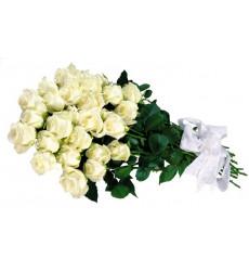 Букет из 18 белых роз  «Анжелина »