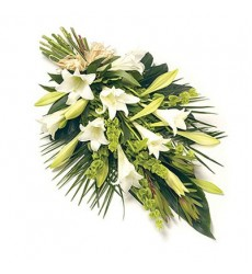 Букет из белых лилий «Королевский шик»