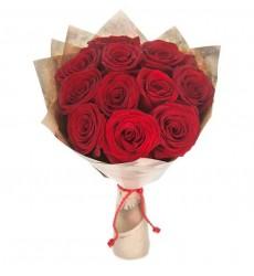 Букет из 11 роз Гран При «Сладость поцелуя»