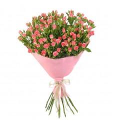 Букет  из 11 кустовых роз «Сладкое блаженство »