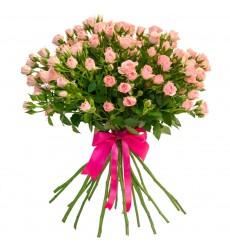 Букет  из 11 кустовых роз «Воздушное облачко »