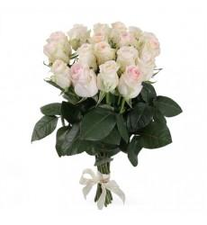 Букет из 21 розы «Влюбленный взгляд»