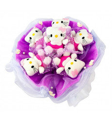 «Букет из 7 игрушек Хэллоу Китти»