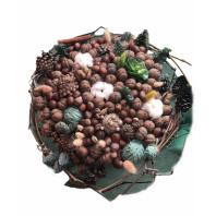 «Букет из орехов и сухоцвета»