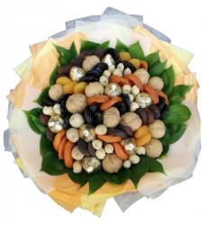 «Букет из сухофруктов и конфет»