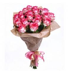 Букет из 21 розы «Безбрежная нежность»