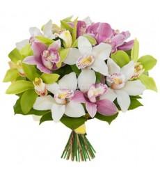 Букет из 15 орхидей «Аромат тайны»