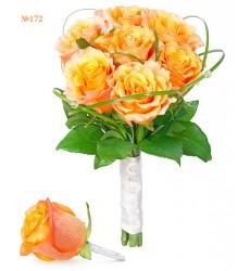 Букет невесты из 7 роз «Союз влюблённых»