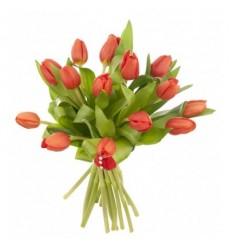 Букет из 15 тюльпанов «Весенняя зарисовка»
