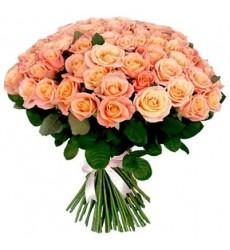 Букет из 101 розы «Окрылённый тобой»