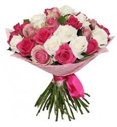 Букет из 31 розы «Марлен Дитрих»