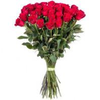 Букет гигантских роз из 35 метровых роз «Реальные чувства»