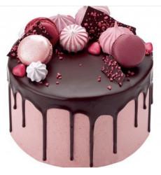 «Торт Розовое счастье»
