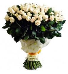 Букет из 101 эквадорской розы «Гений чистой красоты»