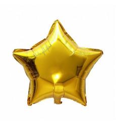 Набор из 5 шаров в форме звезды  «Золотые звездочки»